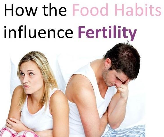 How the Food Habits influence Fertility